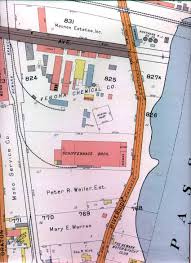 Map Of Newark Nj Coeyman Cemetery Newark New Jersey