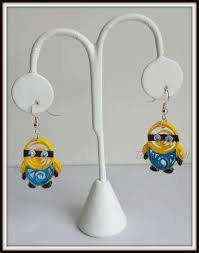 minion earrings paper quilling minion earrings by truptiscraft on etsy paper
