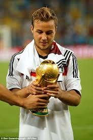 Mario Gotze Hairstyle Mario Gotze Progresses From Germany U0027s Wunderkind To National Hero