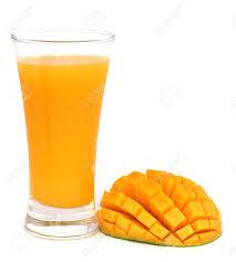 Mango Juice mango juice with fruit white background stock photo picture