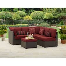 Pvc Patio Furniture Cushions - decorating cheap patio sectional furniture with coffee table and