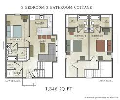 one bedroom cabin floor plans brilliant 1 corglife luxamcc