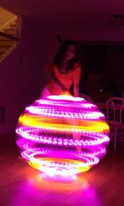 helix led hoop the colors in this helix hoop setting hoop