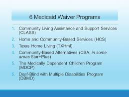 Blind Support Services Interest Lists For Medicaid Waiver Programs Presented By Leona E