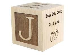 engravable baby gifts baby block baby keepsake block personalized baby gifts wooden