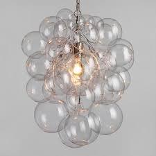 Orb Ceiling Light Glass Orb Chandelier World Market