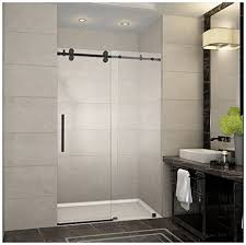 48 Shower Doors Aston Sdr978 Orb 48 10 Langham Completely Frameless Sliding Shower