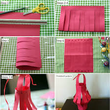 how to make paper lanterns for chinese new year lantern festival