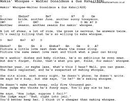 Context Clues Worksheet 5th Grade Song Makin U0027 Whoopee By Walter Donaldson U0026 Gus Kahn 1928 With