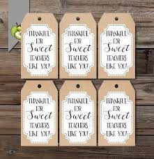 thanksgiving gift for teachers thanksgiving gift tag thankful favor tags gift tag