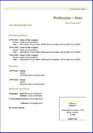 magnificent ideas curriculum vitae formats classy design cv and