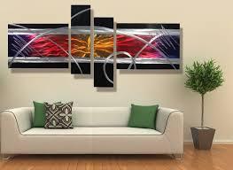 metal wall design modern living great ideas contemporary wall decor basement living room bedroom