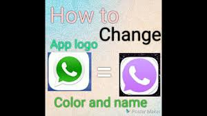 how to change app logo color and name 100 working in hindi youtube