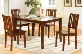 pretty dining room table and chair sets on table 4 chairs 5 pcs