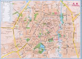 Wuhan China Map by Changchun City Map Guide China City Map China Province Map