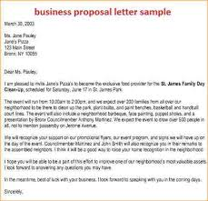 writing business proposal sample product proposal letter 6