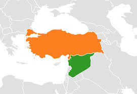 Turkey Blank Map by Turkey Invades Syria Backed By U S Global Research Centre