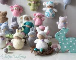 Easter Tree Decorations Sale waldorf easter cat babies pdf knitting patterns easter ornament