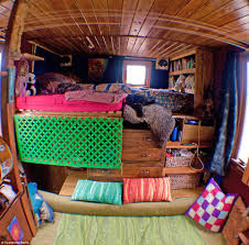 Living In A Yurt by Dilapidated Horsebox Converted Into A House Complete With Running
