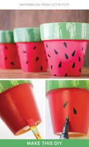 Cute Flower Pots by Best 20 Painted Flower Pots Ideas On Pinterest Painting Clay