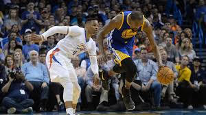 warriors vs thunder live updates relive golden state u0027s blowout