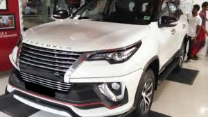 toyota lexus 2016 price in india toyota fortuner with nippon body kit further beefs up the suv