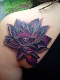 my new magic the gathering black lotus tattoo done by kim deakins