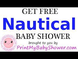 nautical baby shower invitations nautical baby shower decorations and invitations