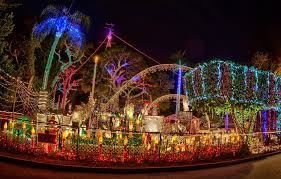 best christmas house decorations the most decorated christmas homes in america popsugar home