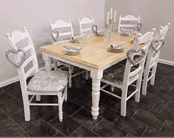 Shabby Chic Dining Table And Chairs Shabby Chic Chairs Etsy