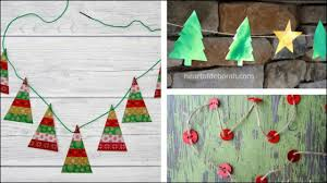 christmas crafts for kids cards gifts garland ornaments and more