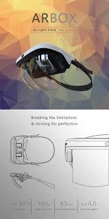 2018 high quality ar google glasses 3d cell phone glass hologram