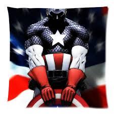 taie d oreiller pour canapé coussin décoratif couverture captain america throw taie d oreiller