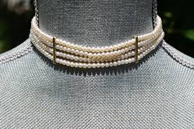 freshwater pearl necklace choker images Freshwater pearl bridal necklace pearl bridal wedding necklaces jpg