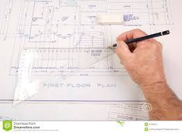 architect plans architect drawing up plans for a house stock photo image 4794610