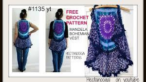 free crochet patterns for sweaters mandala bohemian crochet vest vest sweaters tops free