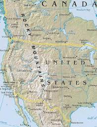 united states map with rivers and mountain ranges america map map of america facts geography