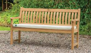 5ft Garden Bench Rhs Wisley 5ft 150cm Bench Teak Kettler Official Site