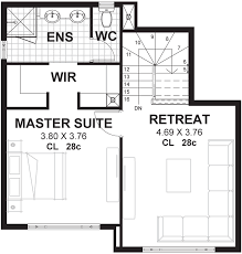 Master Suite Layouts 15m Wide Home Plans U0026 Designs Perth Vision One Homes