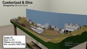 3d track plans the 4x8 ho scale cumberland ohio