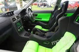 subaru wrx custom interior subaru impreza wrx hawkeye with a custom corbeau interior i wouldn t