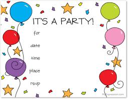 birthday invitations kids image collections invitation design ideas