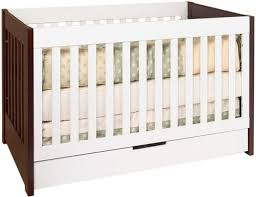 Convertible Crib With Toddler Rail Babyletto Mercer 3 In 1 Convertible Crib With Toddler Rail By