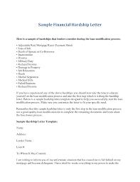 financial hardship letter gplusnick