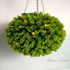 Hanging Topiary Led Lighted Topiary Ball Led Lighted Topiary Ball Suppliers And