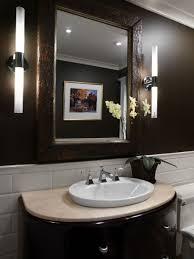 bathroom glamorous blink mosaic tile powder room wall decor