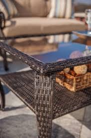 Lazy Boy Wicker Patio Furniture - lake como deep seating wicker patio furniture set khaki tan 6