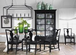 white dining room furniture back to black and white dining room ethan allen