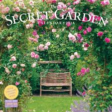 garden wall the secret garden wall calendar 2018 workman publishing
