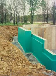 waterproof foundation for a dry basement